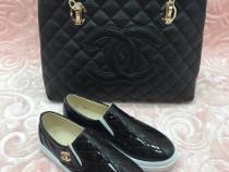 Geanta Chanel/new model/ accesorii aurii