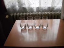 Set de 4 pahare din cristal, din Olanda
