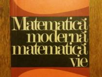 Matematica moderna, matematica vie - Andre Revuz / R5P2F