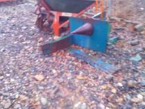 Crepator con lemne model austria pentru tractor