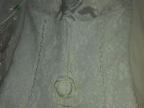 Rochie de mireasa cu accesorii full