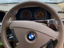 Volan crem sport cu airbag Bmw E65 facelift