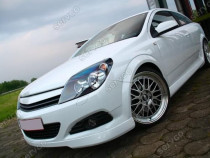 Prelungire lip tuning sport bara fata Opel Astra H GTC v1