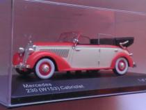 Macheta Mercedes 230 (W153) Cabriolet D 1938 - Whitebox 1/43