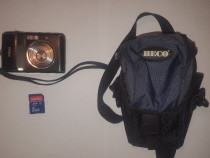 Aparat Foto Nikon Coolpix L18, SD Card 2GB, Geanta