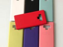 Husa Slim Silicon si Interior De Catifea - Samsung Note 9