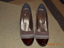 Pantofi din piele in 3 culori