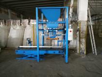 Sistem de insacuire saci de 5 -50 kg materiale granulare