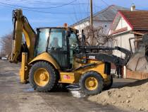 Închiriez buldoexcavator/basculanta excavari,șanțuri