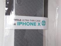 Husa de protectie pentru Apple iPhone X, Transparent