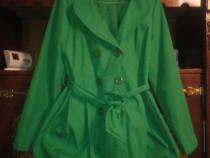 Pardesiu verde dama xl