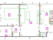 EE/633 Apartament cu 2 camere în Tg Mureș - 7 Noiembrie