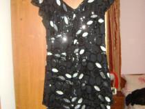 Rochie neagra cu paiete