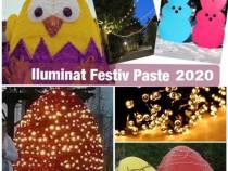 Iluminat festiv Paste 2020,decoratiuni luminoase led primari