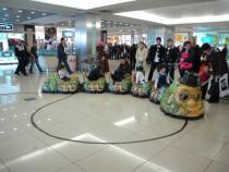 Trenulet/carusel robotizat pentru copii - shopping mall