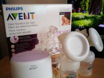 Pompa de san electrica dubla Philips Avent Ultra Comfort