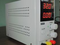 Sursa de tensiune  reglabila 0 -32 V / 0 -10 A