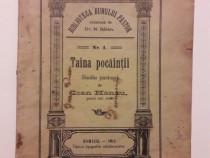 Taina pocaintei- Studiu pastoral- Ioan Hanzu 1911/ C21P