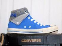 Ghete, bascheți Converse All Star originale din piele, nr.46