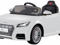 Masinuta electrica cu telecomanda pentru copii, alb, Audi TT