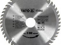 Disc circular pentru lemn yato-yt-6062