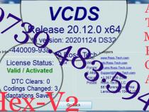 VCDS VAG COM 20.12 Tester Diagnoza Audi Skoda Vw Seat 2020