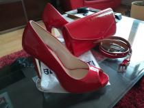 Set pantofi, plic si curelușă
