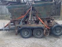 Masina semanat plantat cartofi pe 4 randuri cu fertilizare