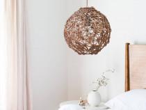 Lampa poliedru cu model Seed of Life 25 cm