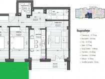 Apartament 3 camere cu gradina proprie, langa metrou berceni