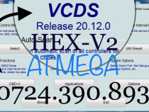 Diagnoza Vag Com VCDS HEX-V2 20.12 Skoda Audi VwTester 2020