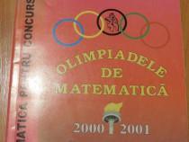 Olimpiadele de matematica 2000-2001. clasele v- x andreescu
