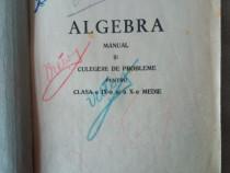 Algebra 1952 manual cls a IX-A si a X-a medie