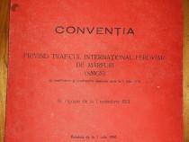 1990 - Conventia privind traficul international feroviar CFR