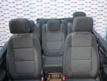Interior textil negru VW Sharan 7N cu 7 locuri model 2015