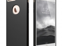Iphone 6 6+ 7 7+ 8 8+ Husa Ultra Slim Din Silicon Neagra