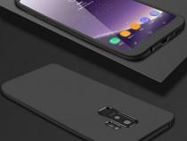 Samsung A6 A6+ A7 A9 2018 Husa 360 Plastic Fata Spate Folie