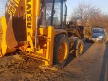Buldoexcavator Komatsu 91R posibilitate rate