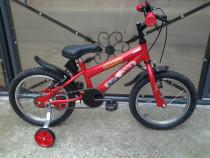 "Lightning McQueen Disney Cars 3 / bicicleta copii 16"" 6-8"