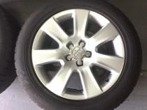 Jante Audi A8 4H R18 originale anvelope iarna 235/55R18 Noki