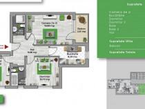 Bucuresti noi Apartament 3 camere vedere la parc