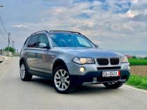 BMW X3 Facelift 150 cp 2.0 d X-Drive 2007 FULL