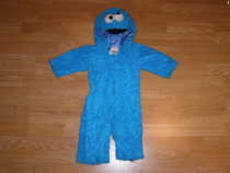 Costum carnaval serbare animal cookie monster 1-2 ani