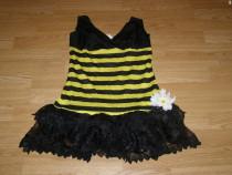 Costum carnaval serbare albina albinuta pentru adulti S