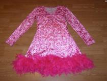 Costum carnaval serbare rochie dans pantera pentru adulti M