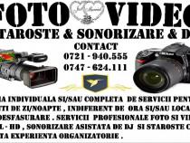 Foto & Video Nunti - Sonorizare | DJ | Staroste