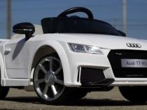 Mașinuta Audi TT RS 2x 25W 12V cu Music Player, 2xUsi, LED