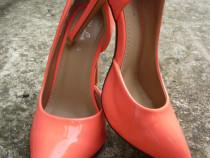 Pantofi cu toc stiletto 11 cm, mărimea 37-38