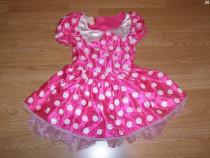 Costum carnaval serbare rochie minnie 4-5-6 ani