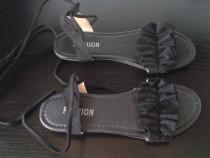 Sandale noi negre - marimea 43